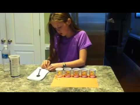 Teeth Staining Beverages Science Project - YouTube