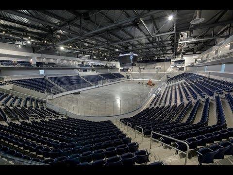 Pegula Ice Arena advance tour -Student Section
