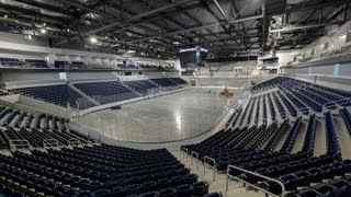 Pegula Ice Arena advance tour -Student Section