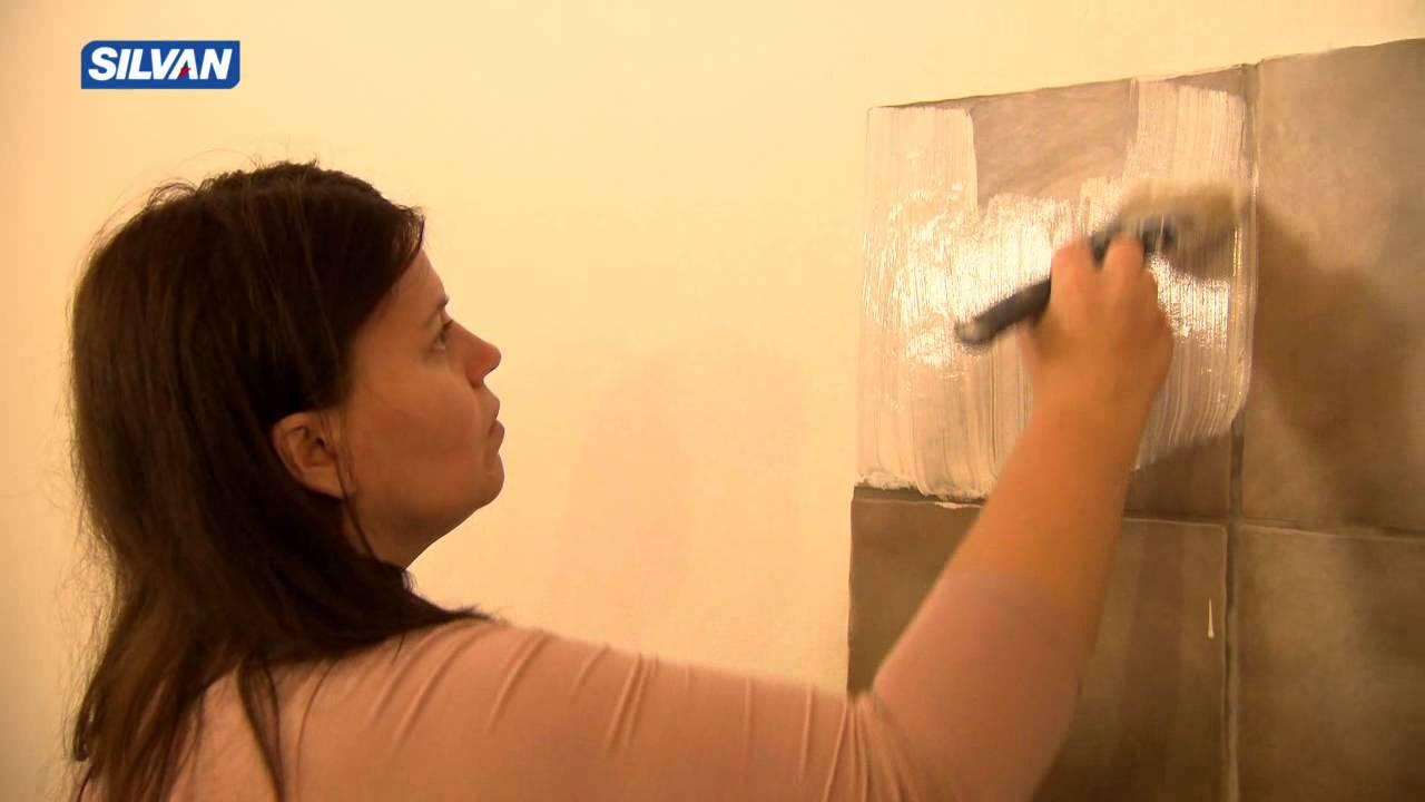 Maling af fliser (Program 1 - Stenlille) - YouTube