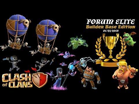 Clash of Clans - Forum Elite Builder Base Edition - 01222018