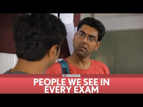FilterCopy | People we see in every exam!