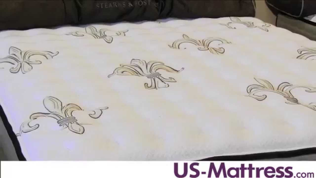 stearns u0026 foster estate east cape cushion firm mattress - Stearns And Foster Reviews