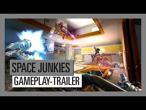 Space Junkies - Gameplay-Trailer | Ubisoft [DE]
