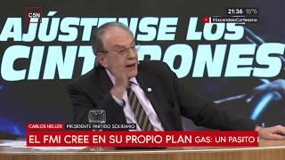 10-10-2018 - Carlos Heller en C5N - M1, con Gustavo Sylvestre - Pronóstico FMI