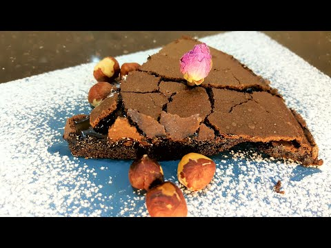 gâteau-au-chocolat-fondant-sans-farine-|-ألذ-كيك-شوكولاته-بدون-دقيق-بمكونات-في-كل-بيت