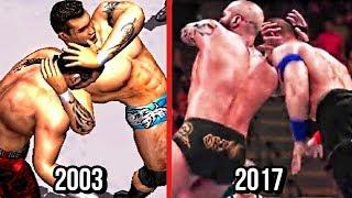 WWE 2K18 - The Evolution Of Randy Orton's RKO! ( Wrestlemania XIX To WWE 2K18 )
