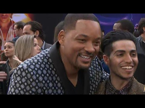 Why Will Smith Didn't Recognize His Aladdin Co-Star On Set (Exclusive)