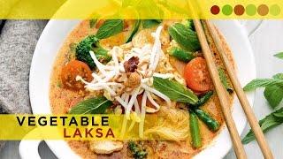 Vegetarian Laksa | Malaysian Laksa | Easy Cook With Atul Kochhar