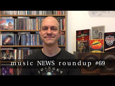 Music News Roundup #69 (NEW) - Iron Maiden, Ozzy Osbourne, Stryper, LA Guns, Overkill, & More