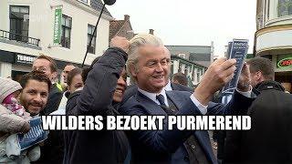 Wilders flyert in Purmerend