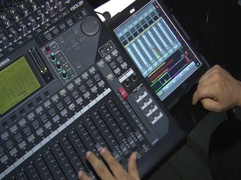 01V96i con Ipad y Studio Manager 2015