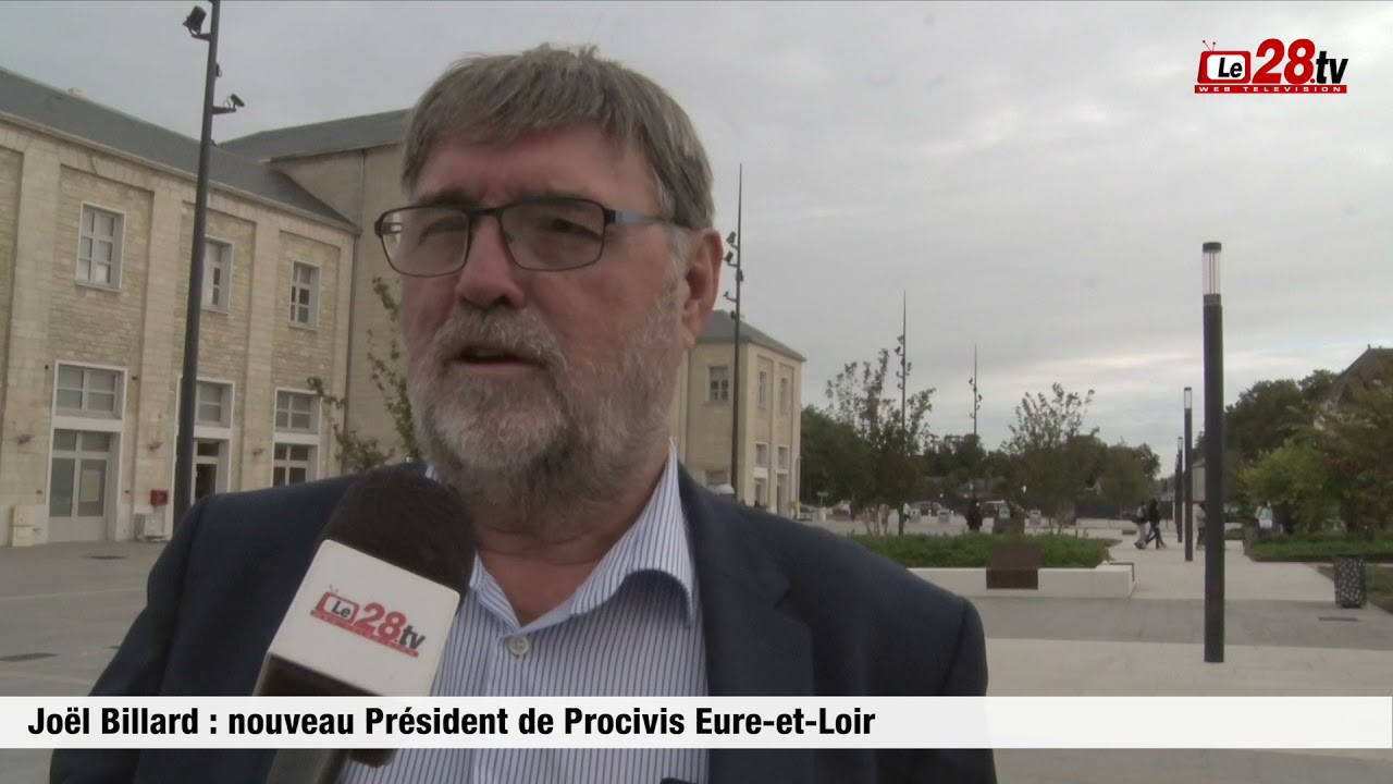 Joël Billard : président de Procivis Eure-et-Loir