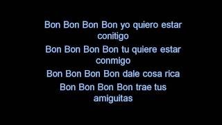 Pitbull - Bon, Bon  -  Lyrics ( We no speak americano)