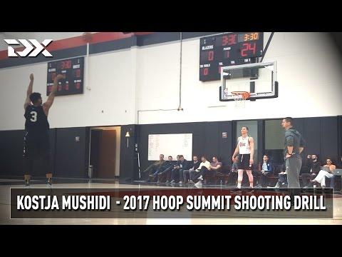 2017 Nike Hoop Summit Shooting Drills: Kostja Mushidi