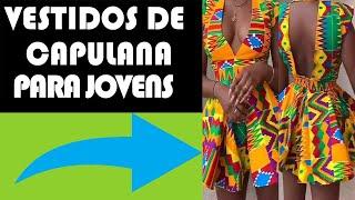 Vestidos de Capulana Justos Para Jovens - ANKARA DRESS
