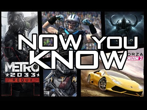 """now-you-know---""""most-popular-xbox-one-games-coming-soon""""---04.07.2014"""