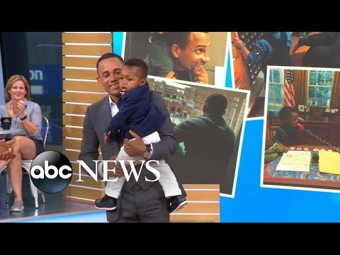 Hill Harper opens up about adoption, single fatherhood