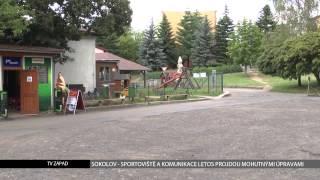 Sokolov: Sportoviště a komunikace letos projdou mohutnými opravami (TV Západ)