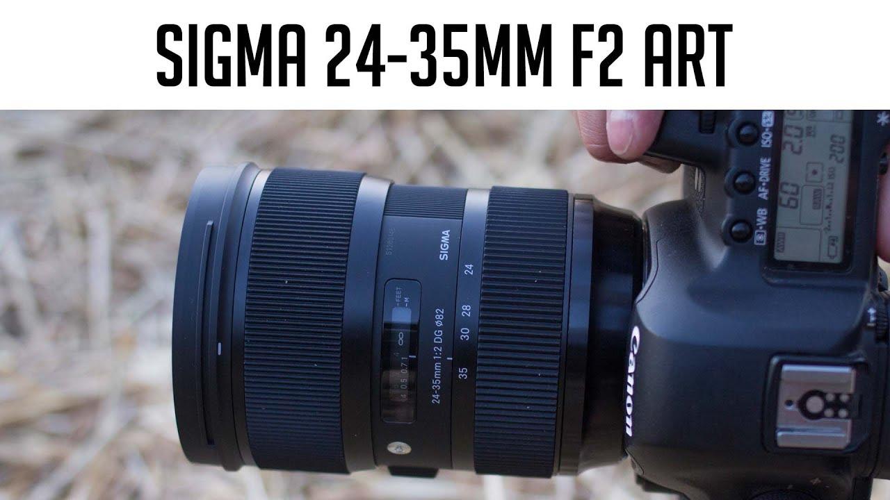 Sigma 24-35mm F2 Weitwinkel-Zoom-Objektiv im Test - YouTube