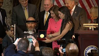 Congress honors former Saints' player battling ALS