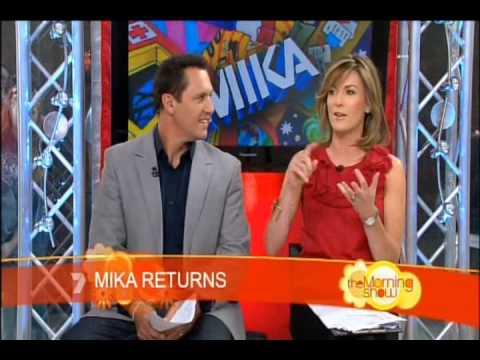MIKA on The Morning Show, Australia