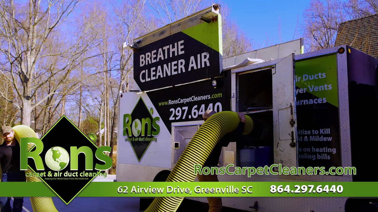 Rons Carpets Air Duct Cleaning - YouTube