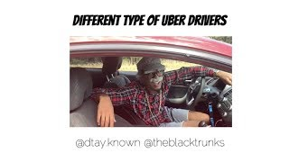 Different Type of Uber Drivers