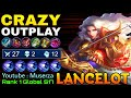 - 27 Kills Lancelot Crazy Outplays!! - Top 1 Global Lancelot S17 by Youtube : Muserza - MLBB