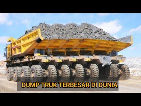 TRUK MONSTER RAKSASA - 5 MOBIL DUMP TRUK TERBESAR DAN PALING SANGAR DI DUNIA
