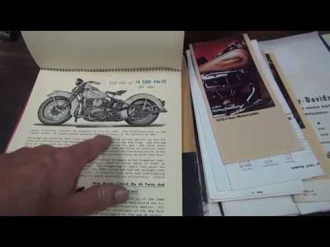 Hunting Harley's, 1941 sales Bulletin part 1 of 4