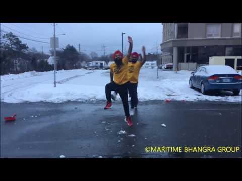 Snow Bhangra So Cool ! @maritimebhangra Bhangra On Sia Cheap Thrills? Dance