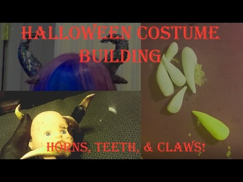 §¢αяу Ŧαιяу - Horns, Claws, and Teeth! //Costume Progress Timelapse