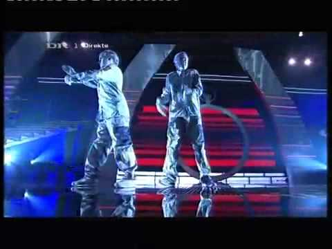 Talent 2009 New !  Denmark Live Robot Dancers