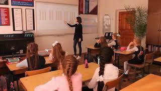 """Открытый урок для первого класса по предмету """"сольфеджио""""."""