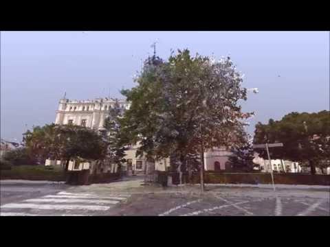 Animacja Jarosławskiego Rynku przedstawiona nowatorską metodą SKANINGU 3D