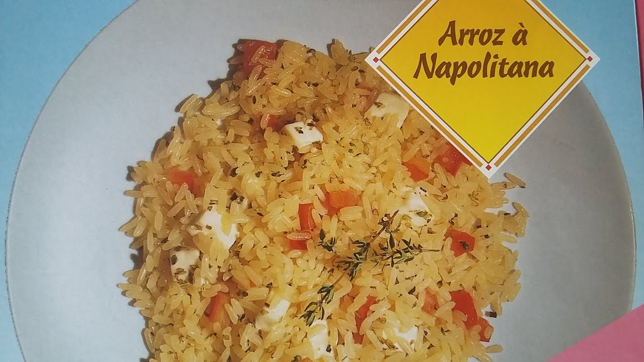 Como preparar arroz napolitana youtube for Como cocinar arroz