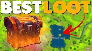 5 BEST PLACES TO FIND LEGENDARY LOOT In Fortnite Battle Royale