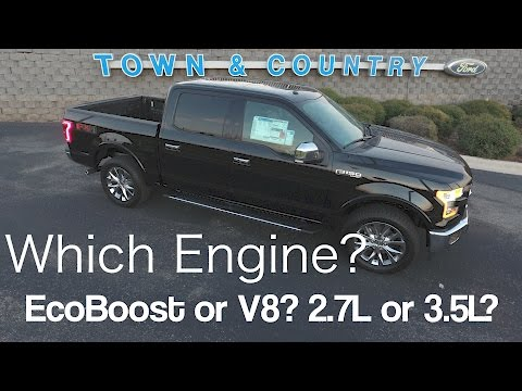 2017 Ford F150 - Which Engine to Choose? EcoBoost or V8? 3.5L or 2.7L?