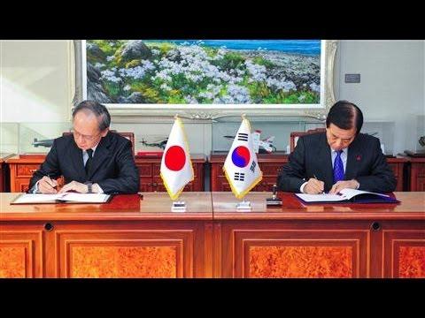 South Korea, Japan Sign Pact to Track North Korea
