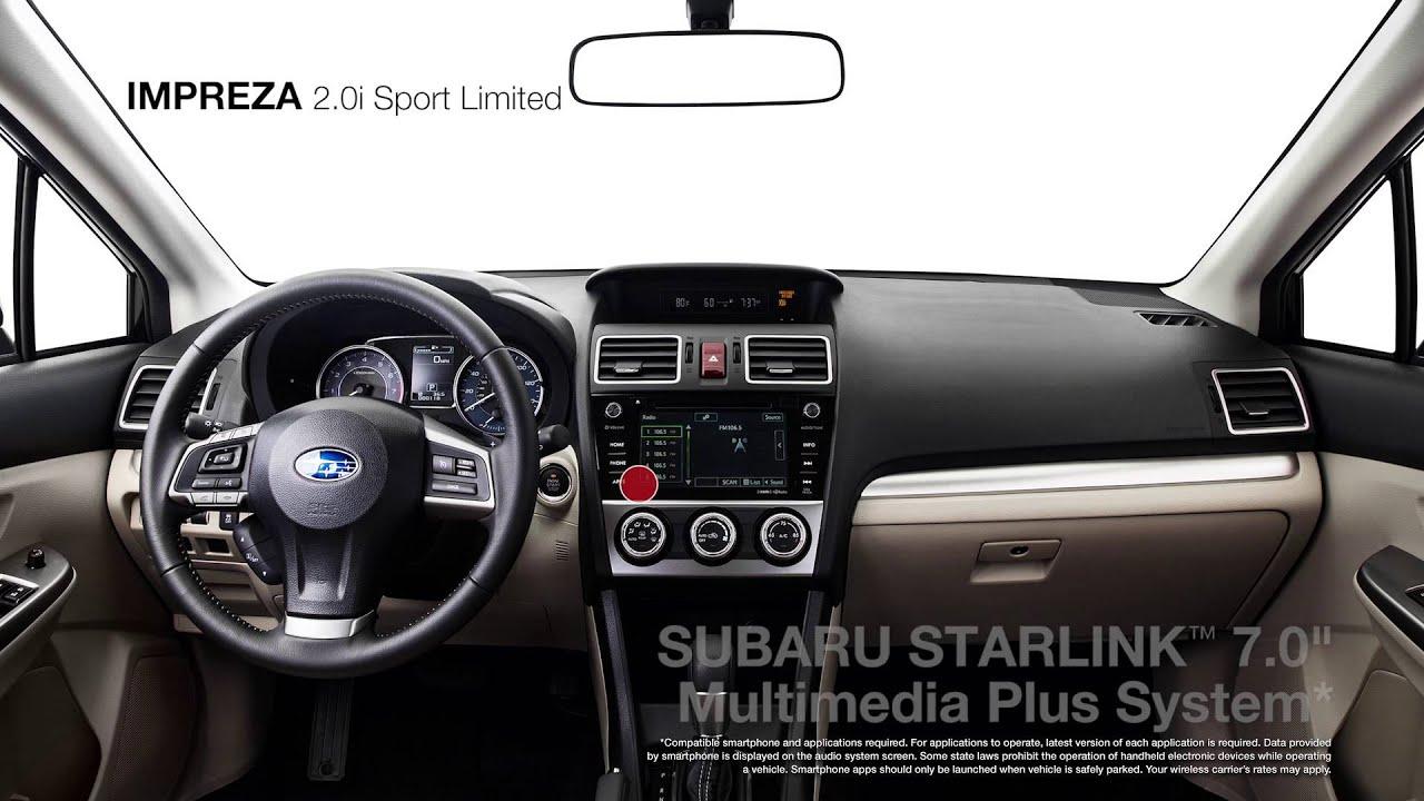 2016 Subaru Impreza 2 0i Sport Limited