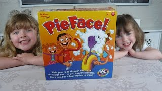 What the Kids Think Episode 7 - The Kids Play PIE FACE game messy FUN for Kids