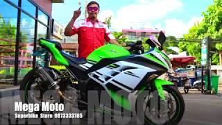Kawasaki Ninja 300 2015 ตัวฉลอง 30 ปี ร้าน Mega Moto