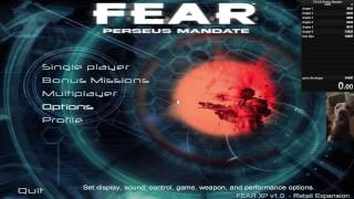 F.E.A.R Perseus Mandate 100% speedrun (WR)  1:31:12 with commentary