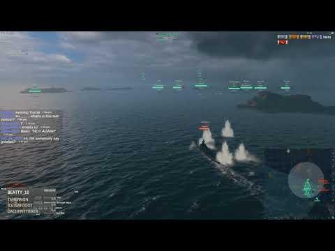World of Warships: Op Hermes test highlights.
