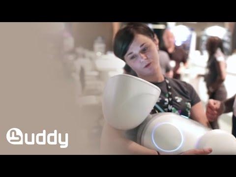 BUDDY the companion robot at UNITE EUROPE 2015
