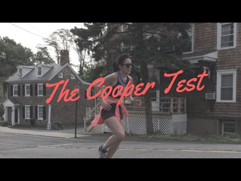 The Cooper test 12 minutes to determine your VO2max