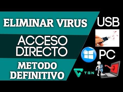 ✔Eliminar El Virus De Acceso Directo | Método Definitivo | USB/PC | 🔎 🔋 📺