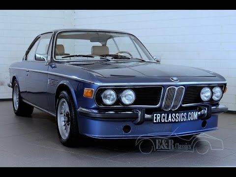 Bmw 2800 Cs E9 1970 Blue Metallic In Very Good Condition Video Www