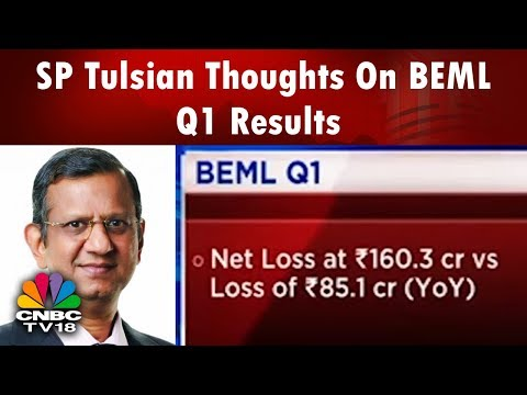 SP Tulsian Thoughts On BEML Q1 Results, Loss Widens to Rs 160 Cr, Shares Drop 5% | CNBCTV18